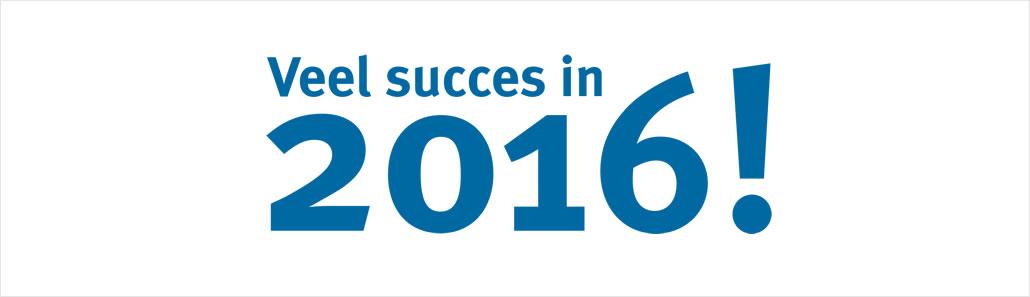 frontlijn veel succes in 2016